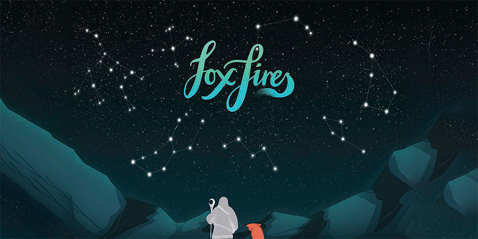 Testlab - Create your own star-animal - Fox Fires