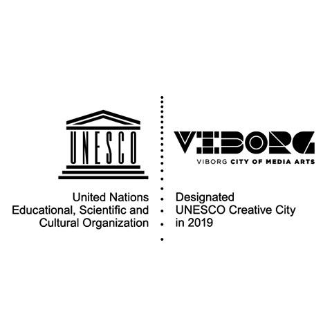 UNESCO Creative City of Media Arts - Viborg logo